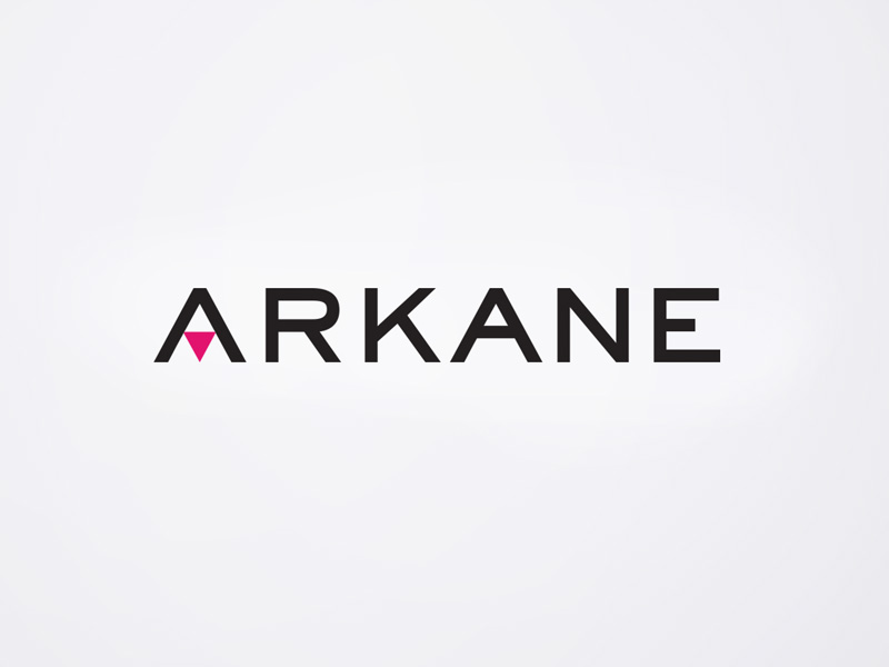 Logo design for Arkane, Design Ward, Sydney