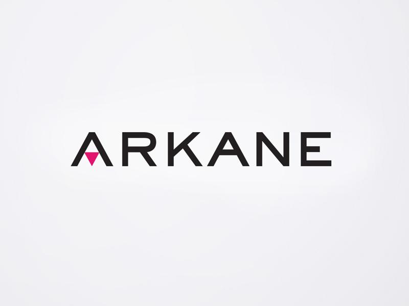 Logo design for Arkane, Design Ward, Sydney