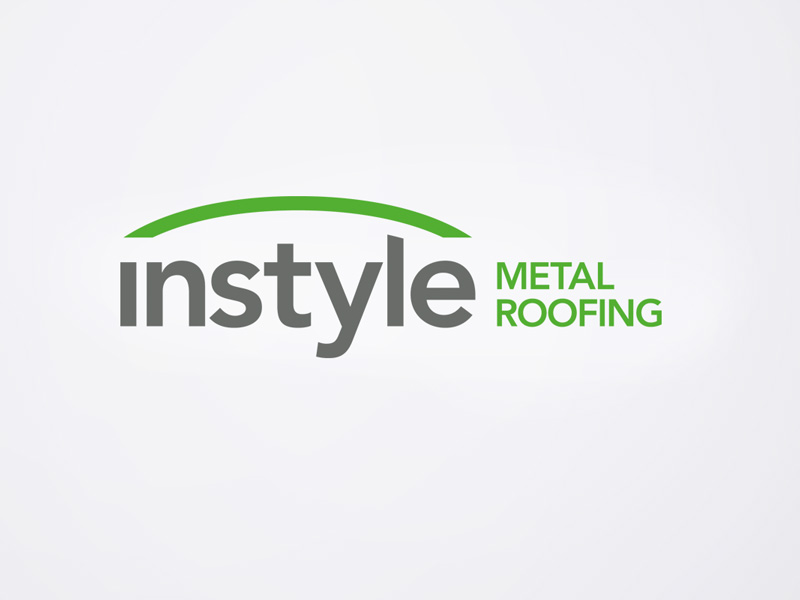 Logo design for Instyle Metal Roofing, Sutherland Shire