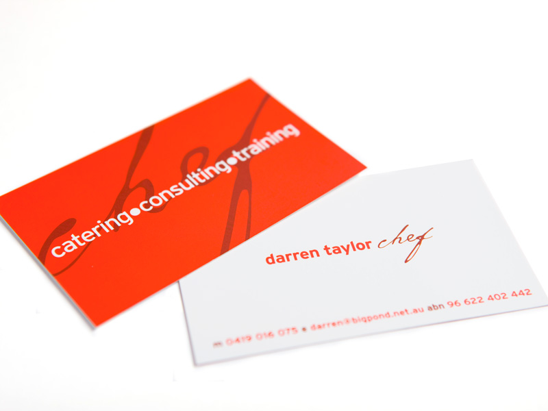 Darren taylor business cards design ward sutherland shire darren taylor business cards reheart Image collections