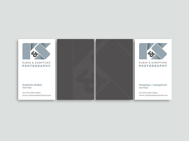 Rubin Sampford Photography Business Cards