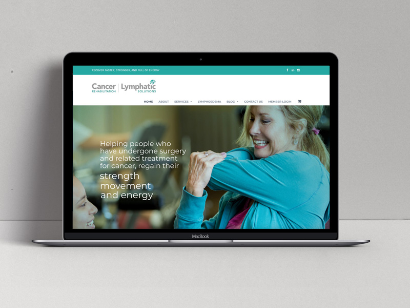 Lymphatic Solutions Wordpress Website by Design Ward, Sutherland Shire